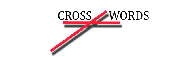 Cross-words logo