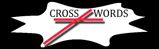 Cross-words logo